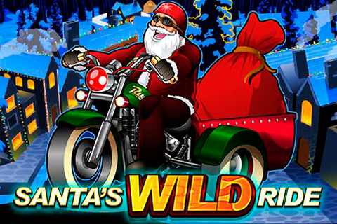 Logo santas wild ride microgaming