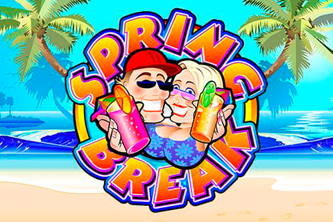 Logo spring break microgaming