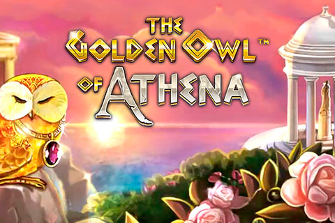 Logo the golden owl of athena betsoft