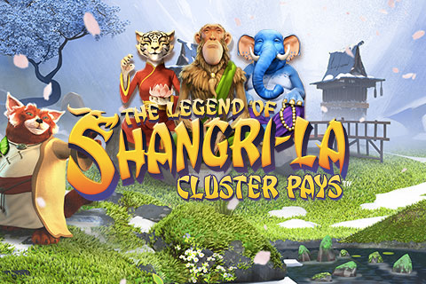 Logo the legend of shangrila netent