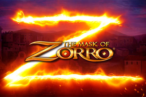 Logo the mask of zorro playtech