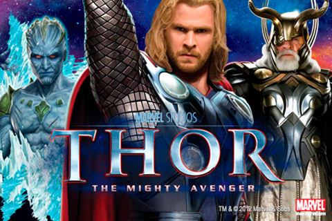 Logo thor the mighty avenger playtech