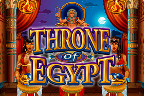 Logo throne of egypt microgaming