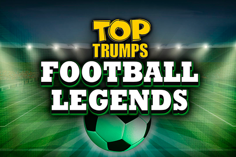 Logo top trumps football legends playtech