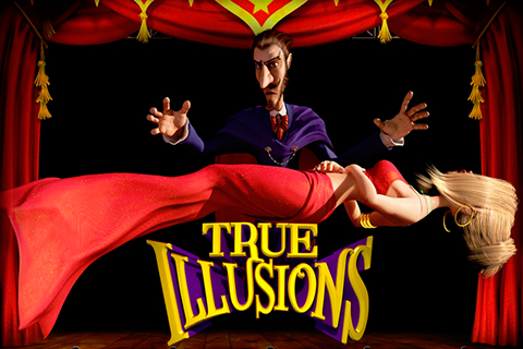 Logo true illusions betsoft