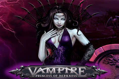 Logo vampire princess of darkness playtech