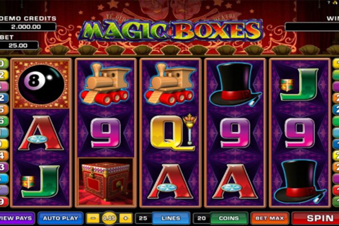 Magic boxes microgaming