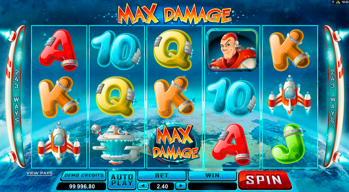 max damage microgaming
