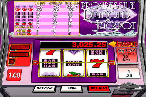 Progressive diamond jackpot betsoft