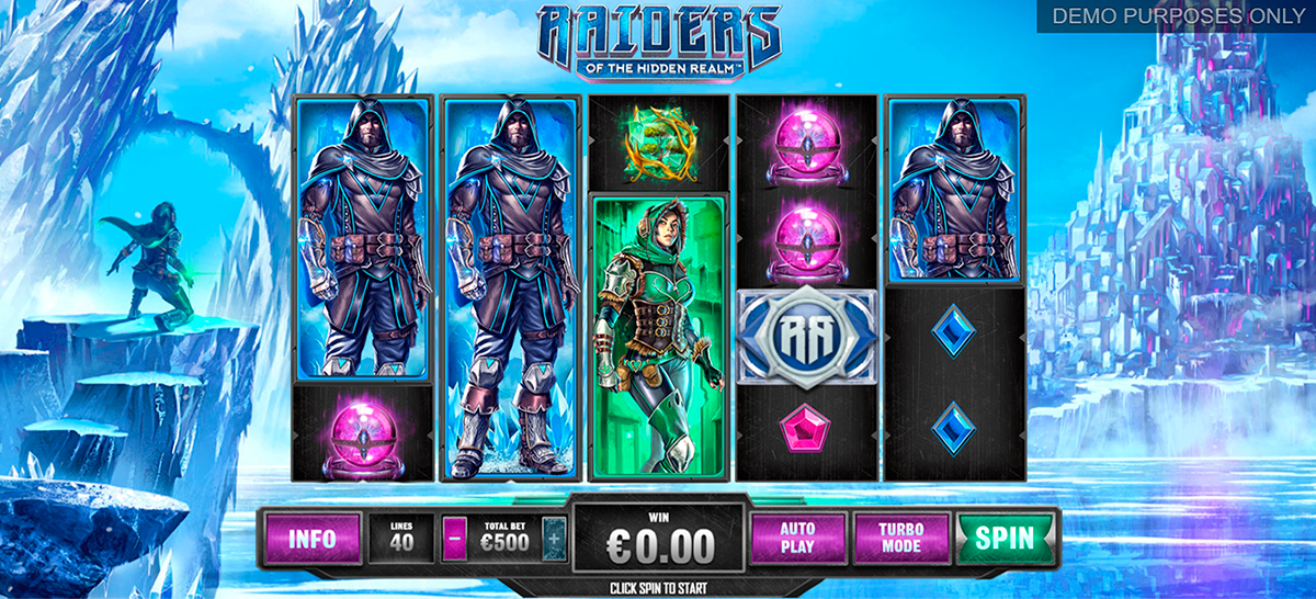 raiders of the hidden realm playtech