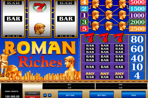 Roman riches microgaming