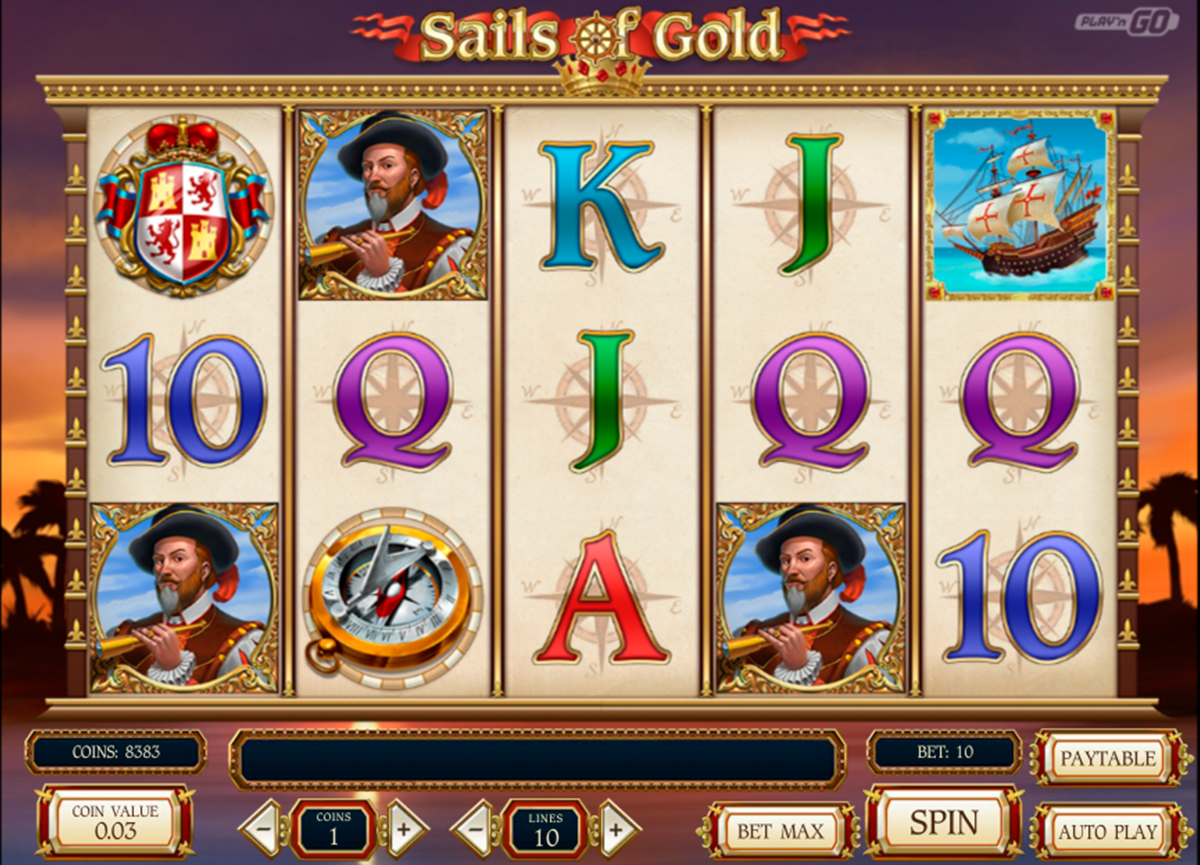 sails of gold playn go