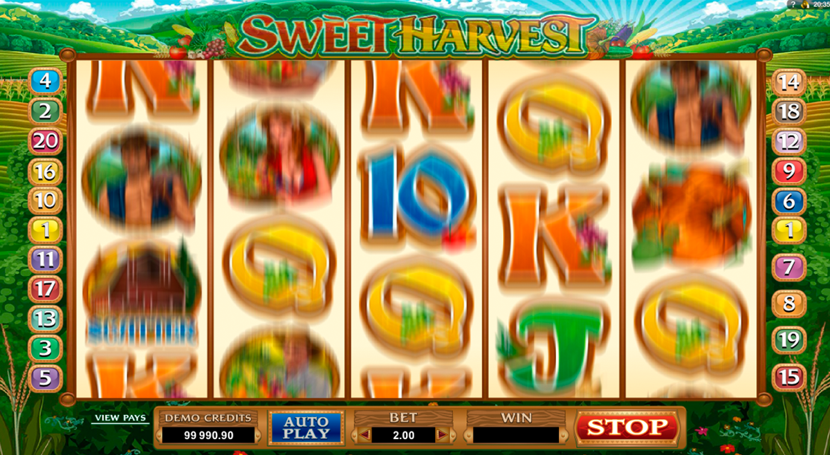 sweet harvest microgaming
