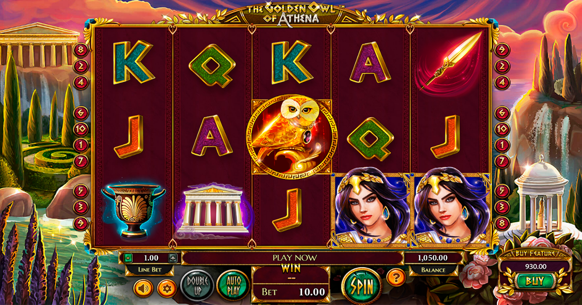 the golden owl of athena betsoft