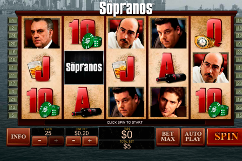 The sopranos playtech